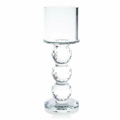 Decorative Gift Present Crystal Dinner Party Tealight Candle Holder 7601-1
