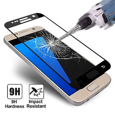 Samsung Galaxy S7 Vitre Film Protection Verre Trempé Ecran Pprotecteur Integral 2
