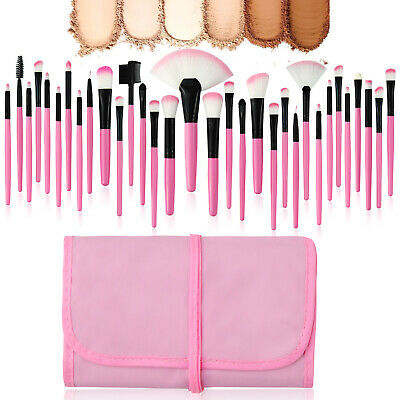 7~32Pcs Professional Makeup Brushes Set Eyeshadow Lip Powder Brush Cosmetic Tool 8