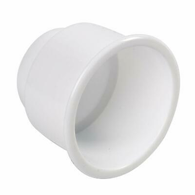 HYDDNice 4pack White Recessed Plastic Cup Drink Can Holder with Drain for Boat