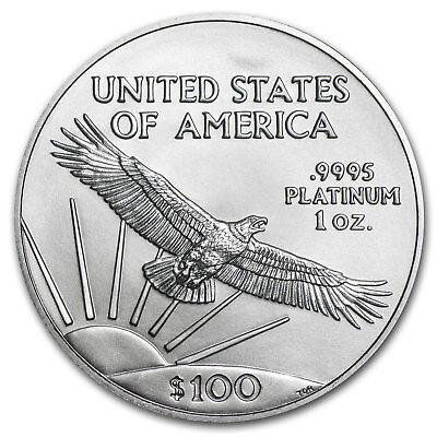 2017 1 oz Platinum American Eagle Coin Brilliant Uncirculated BU 2