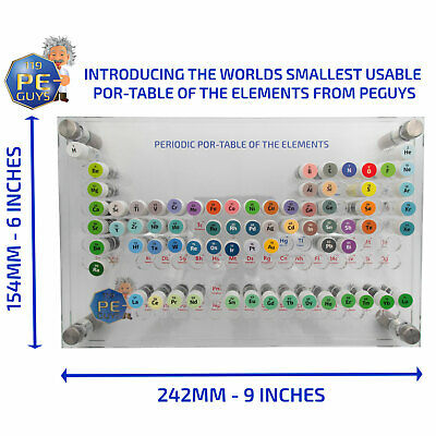 The Periodic Element Sample Small Sealed Bottles Rhodium Iridium Osmium Rhenium 4
