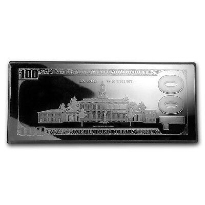 4 oz Silver Bar - 2019 $100 Bill (w/Box & COA) - SKU#176793 2