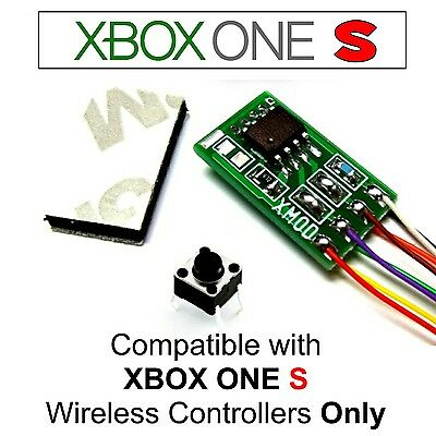 XBOX ONE S ELITE MOD CHIP KIT, RAPID FIRE x MODDED CONTROLLER PRO, XMOD 30  MODES