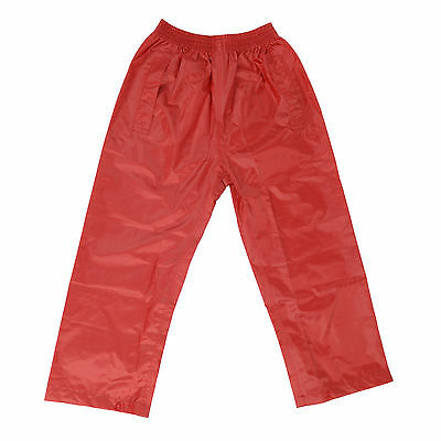 DRY KIDS Waterproof Over Trousers Rain Children Boys & Girls Childs age 2-13 6