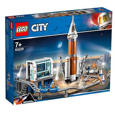 LEGO ® City 60228 60224 Weltraumrakete mit Kontrollzentrum Satelliten N7/19 2