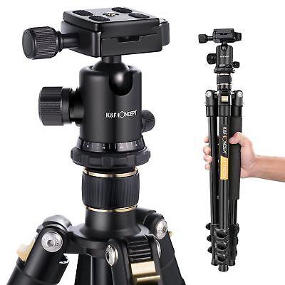 Professional Portable Tripod Ball Head for Canon Nikon Camera DSLR K&F Concept 2