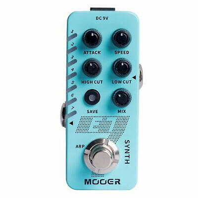 Mooer E7 Synth Polyphonic Guitar Synthesizer Pedal Just Released 2