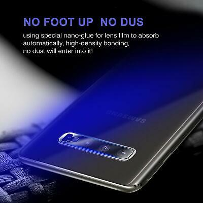 2X Samsung Galaxy S8 S9 S10 Plus Camera Lens Tempered Glass Screen Protector 4