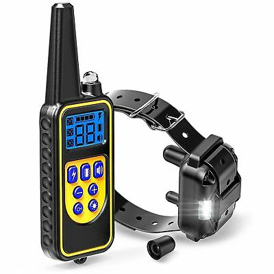 Dog Shock Collar With Remote Waterproof Electric for Large 880 Yard Pet Training 5