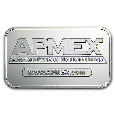 1 oz APMEX Silver Bar .999 Fine Lot of 10 - SKU #81774 3