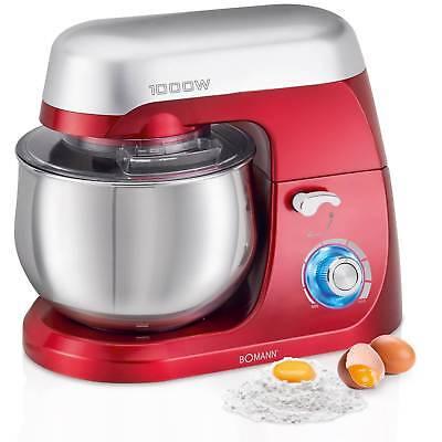 Robot cocina multifuncion batidora amasadora reposteria 5L 1000W Bomann KM 6009 2