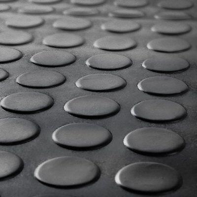 Stud / Penny Coin Rubber Flooring Matting for Garage, Van Car Roll Mat
