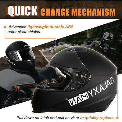 Safety Motorcycle Full Face Helmet Street Motorbike Helmets Racing + FREE GLOVES 4