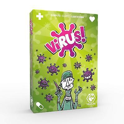 Pack Juego de Cartas Virus + Expansión Virus 2 Evolution. Edición Española. 2
