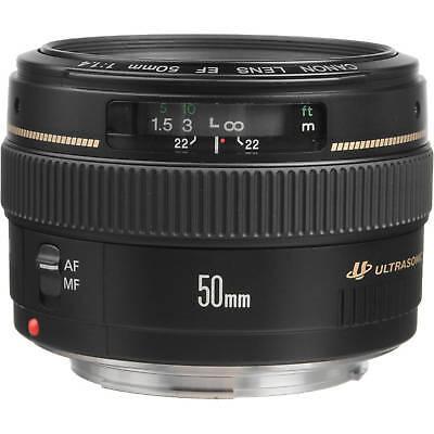 Canon EF 50mm F/1.4 USM Lens for Canon SLR Cameras 2