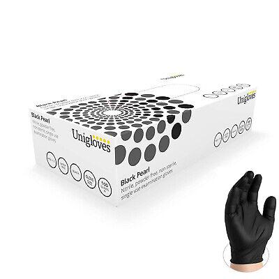 100 Nitrile Vinyl Disposable Gloves Powder Free Tattoo Car Detailing Mechanic 2