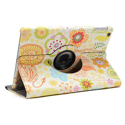 360 Rotating Leather Smart Cover Case for iPad 6th Gen iPad 5 4 3 2 Air mini 10
