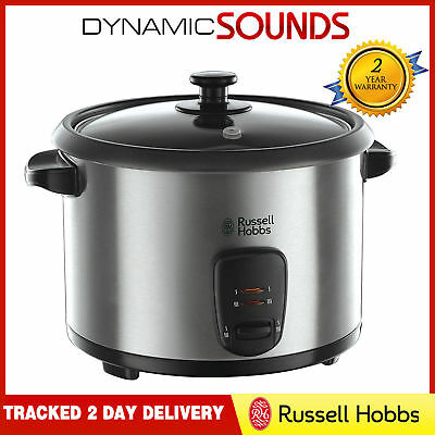 Russell Hobbs 19750 Stainless Steel Rice Cooker and Steamer, 1.8 L - Silver 2