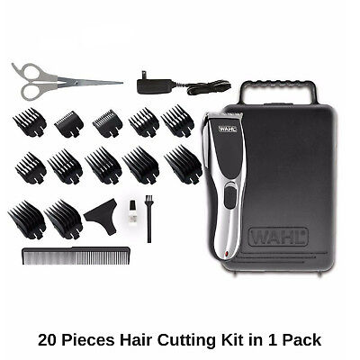 Wahl Cordless Rechargeable Professional Hair Clipper Shaver Trimmer Grooming Set 11