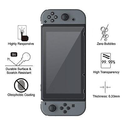 Nintendo Switch amFilm Premium Tempered Glass Screen Protector (2 Pack) 2