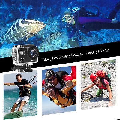 IT 4K Sport Go Pro Action Camera Outdoor Capture Ultra HD 20MP WiFi Waterproof 7