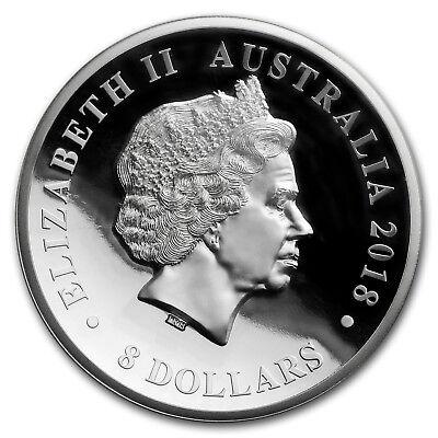 2018 Australia 5 oz Silver Swan PR-70 PCGS (FS, Swan Label) - SKU#181229 3