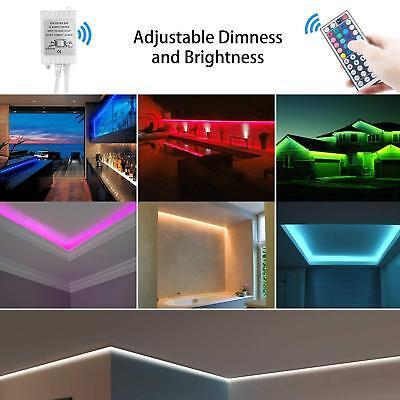 1-30M LED Stripe RGB Leiste Streifen 5050 Band IP65 Wasserdicht Lichterkette 9