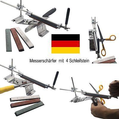 RUIXIN Professionelle Messerschleifer Messerschärfer mit 4 SCHLEIFSTEIN