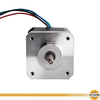 DE Free 3PCS Nema17 Schrittmotor 17HM5417 1.7A 48mm 0.9°  Φ5mm 60oz-in  Bipolar 5