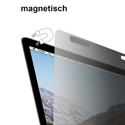 """Slabo Blickschutzfolie MAGNETISCH für Apple MacBook Pro Retina Display 15 """" Zoll"""