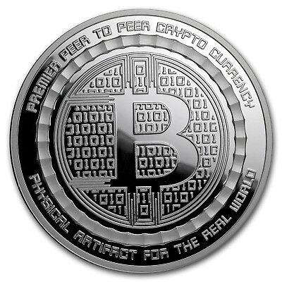 5 oz Silver Proof Round Bitcoin Value Conversion - SKU#166858 2