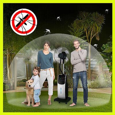Ventilatore Digitale Acqua Wfd Dardaruga Con Nuovo Nebulizzatore Professionale 8