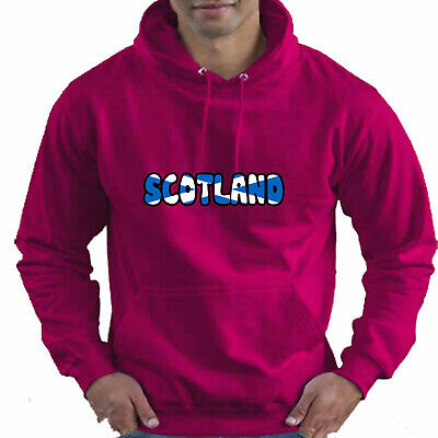 Scotland Scottish Flag Childrens Childs Kids Boys Girls Hoodie Hooded Top 6