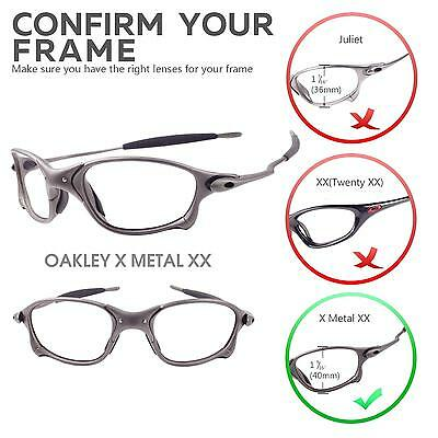 f393240efe NEW WALLEVA POLARIZED Titanium Lenses For Oakley X Metal XX -  19.99 ...