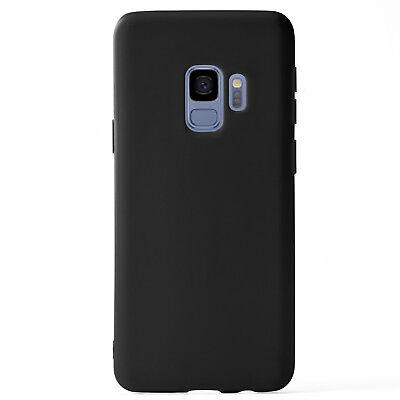 Matte Silikon Case für Samsung Galaxy S9 Samsung Galaxy S9+ Plus Unifarben Hülle 2