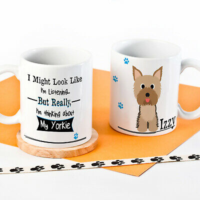 Personalised Dog Mug Funny Pet Cup Birthday Gift All Breeds 12