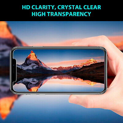 2X iPhone X XS Max XR 8 7 6 6S Plus 9H Tempered Glass Screen Protector For Apple 5