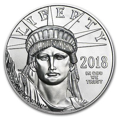 2018 1 oz Platinum American Eagle BU (w/U.S. Mint Box) - SKU#152919 2