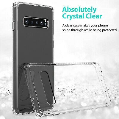 Samsung Galaxy S10 5G S10e S9 S8 Plus Case Clear Heavy Duty Shockproof Cover 3