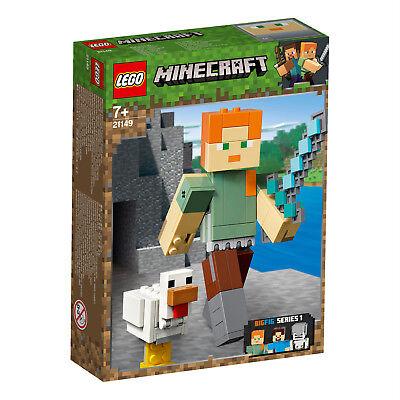 LEGO® Minecraft™ 21150 21149 21148 BigFig Alex Steve Skelett N2/19 3