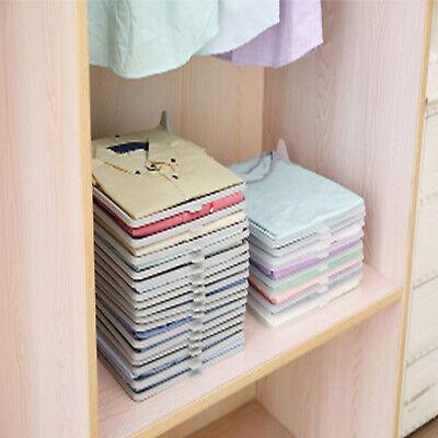Kleidung Organizer Kleidung Ordner Datei T-shirts Lagerung Regale Rack Schrank
