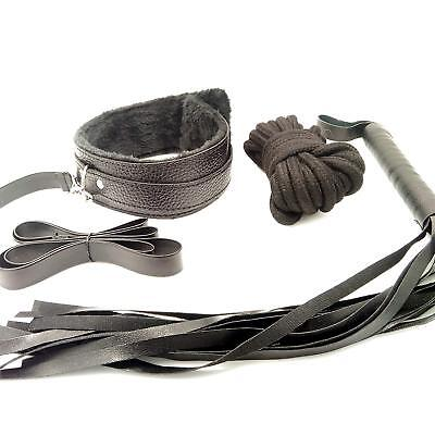 KIT STARTER BDSM SET 8 pz bondage + plug anale erotico 7