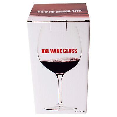 Weinglas XXL mit 750ml Fassungsvermögen Rotweinglas Weißweinglas Rotwein 4