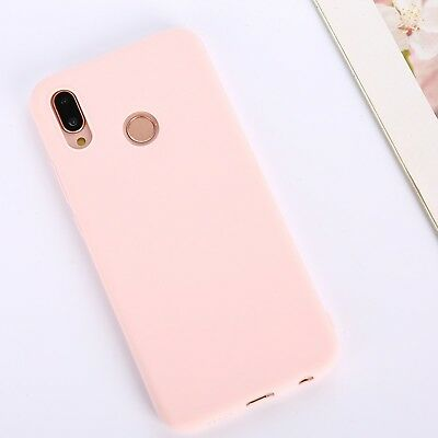 Candy Color Case for Huawei Y5 Y6 Y7 Y9 Honor 8x P20 Cover Smart Soft Silicon 10
