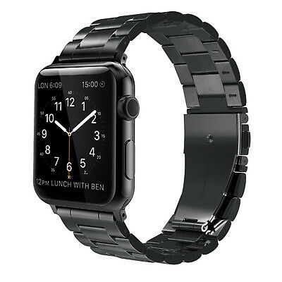 For iWatch Apple Watch Series 5/4 44mm Stainless Steel Band Strap Bracelet 2