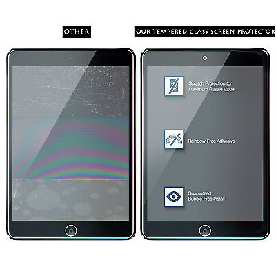 Premium Tempered Glass Screen Protector for iPhone 5-Xs Max iPad 2 3 4 Air Mini