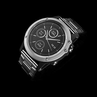 New Garmin Fenix 3 Saphire Titan Smartwatch 010 01338 41 429 95