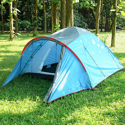 Waterproof 3 Person Camping Tent Automatic Folding Quick Shelter Outdoor Hiking 3