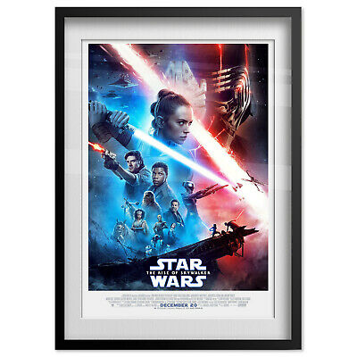 Star Wars: The Rise of Skywalker Poster - Official Art - High Quality 2